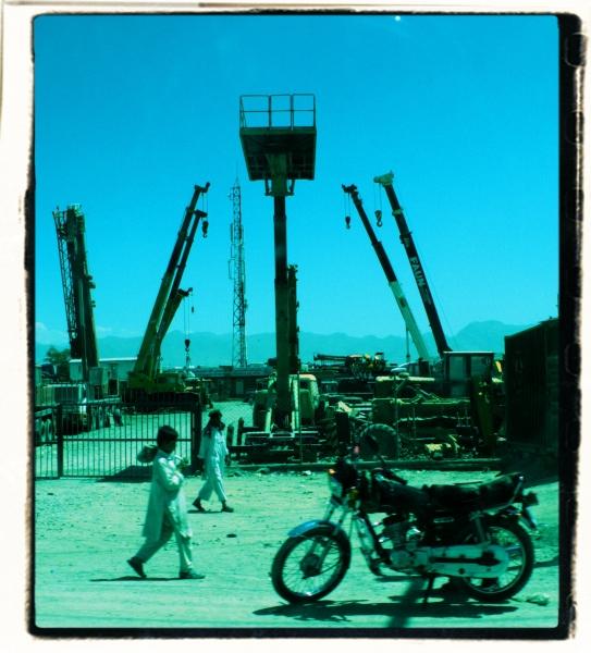 Kabul hoists. 2012. Digital media. 2